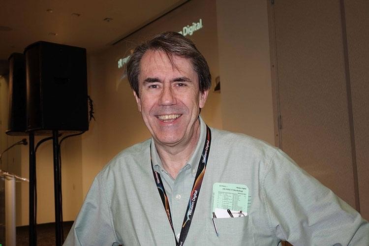 Дэвид Дитцель на конференции RISC-V Workshop (PC Watch)
