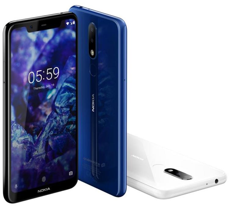 """Nokia 6.1 Plus и Nokia 5.1 Plus: безрамочные смартфоны на платформе Android One"""""""