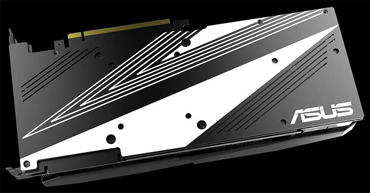 Dual GeForce RTX 2080/2080 Ti OC Edition выдержаны в чёрно-белых тонах и обходятся без подсветки