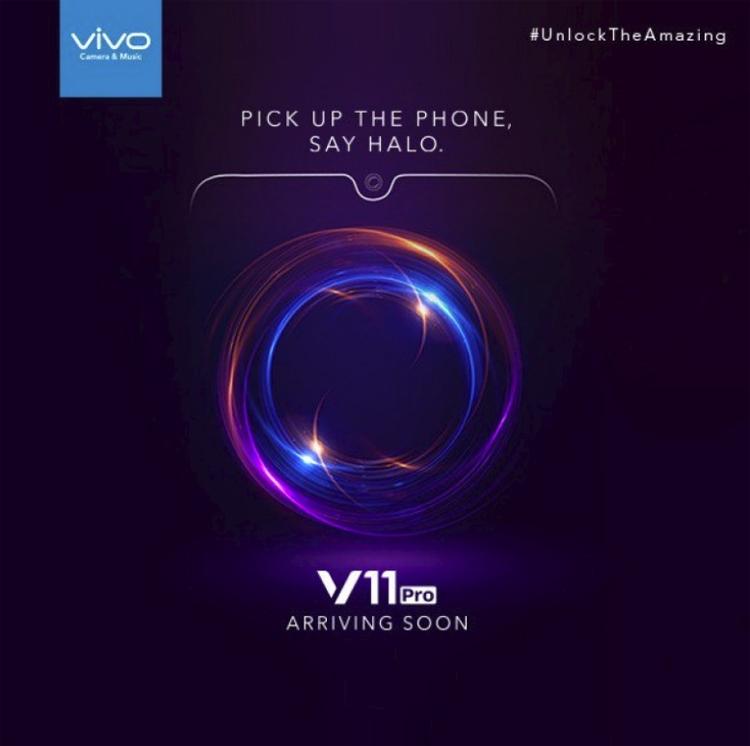 "Смартфон Vivo V11 Pro получит дактилоскопический сканер в экране"""