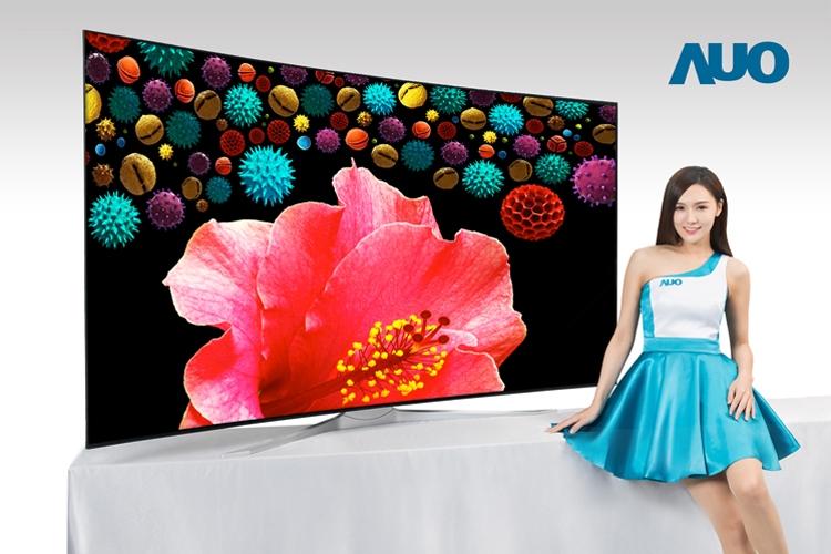 """AUO создала безрамочный 85-дюймовый ТВ-дисплей формата 8K"""""""