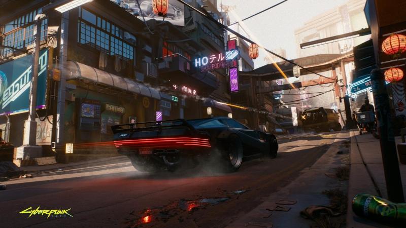 Машина героя чем-то напоминает KITT из «Рыцаря дорог»