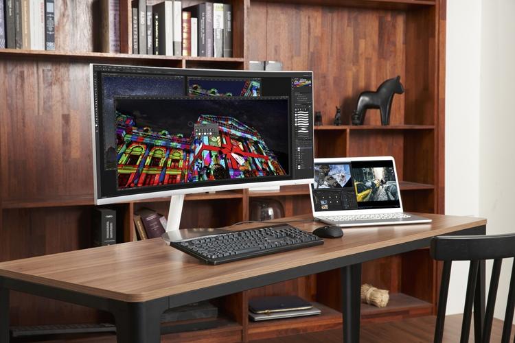 """Изогнутый монитор Samsung CJ79 оснащён двумя портами Thunderbolt 3"""""""