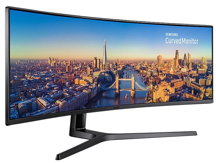"""Samsung C49J890: 49-дюймовый монитор с частотой обновления 144 Гц"""""""