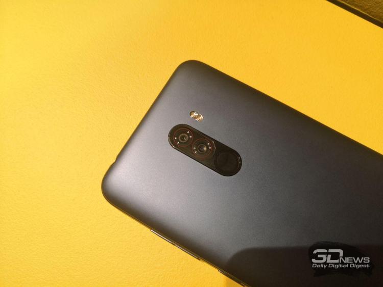 "Смартфон Xiaomi Pocophone F1 на базе Snapdragon 845 стоит в России от 23 999 рублей"""