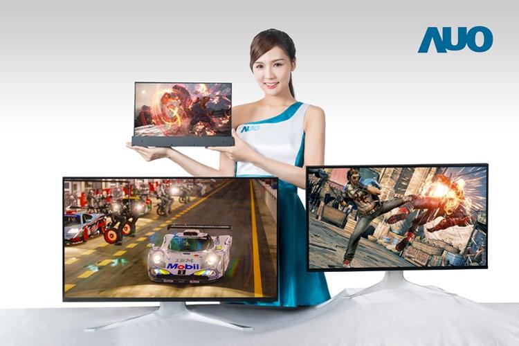 """AUO создала 4К-дисплей для ноутбуков с частотой обновления 144 Гц"""""""