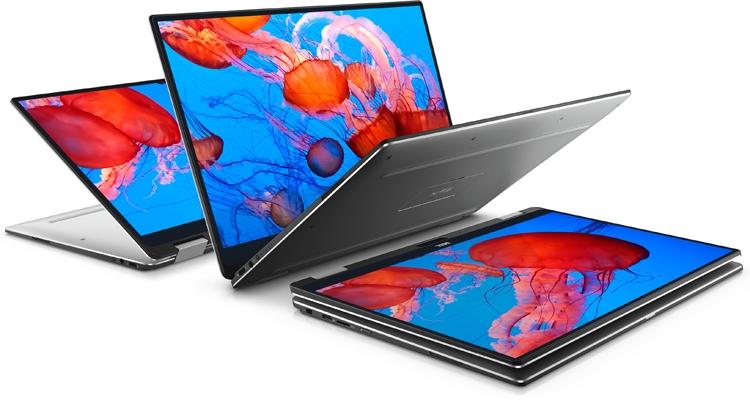 "Ноутбук-трансформер Dell XPS 13 получил процессор Intel Amber Lake Y"""