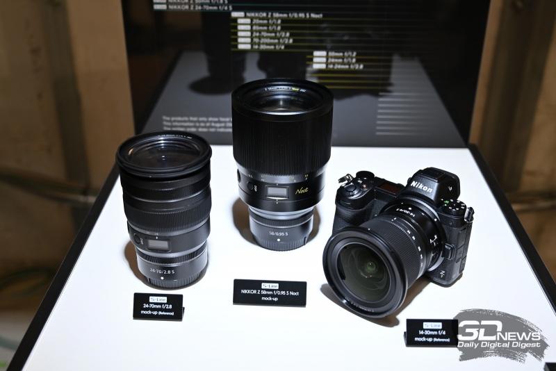 NIKKOR Z 58mm f/0,95 S Noct - посередине