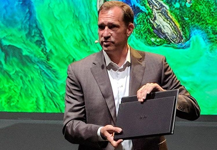 """Новый Acer Swift 7 с безрамочным дисплеем — самый тонкий в мире ноутбук"""""""