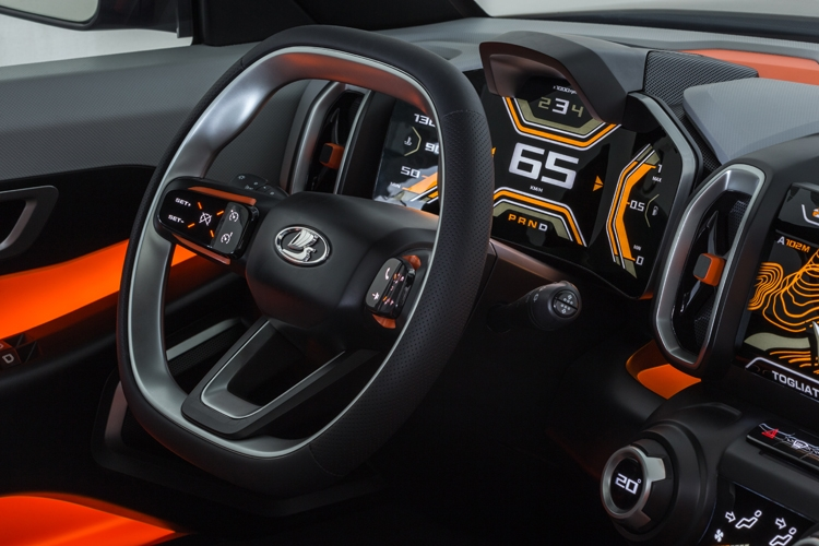 """LADA 4х4 Vision: концепт-кар с полным приводом"""""""