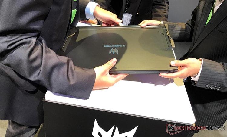 """IFA 2018: Acer Predator Triton 900 — игровой ноутбук-трансформер"""""""