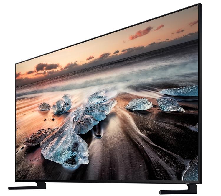 """Телевизоры Samsung Q900R QLED 8K поступят в продажу в конце сентября"""""""