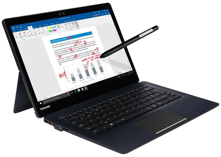"""Toshiba Portege X30T: гибридный планшет с подсоединяемой клавиатурой"""""""
