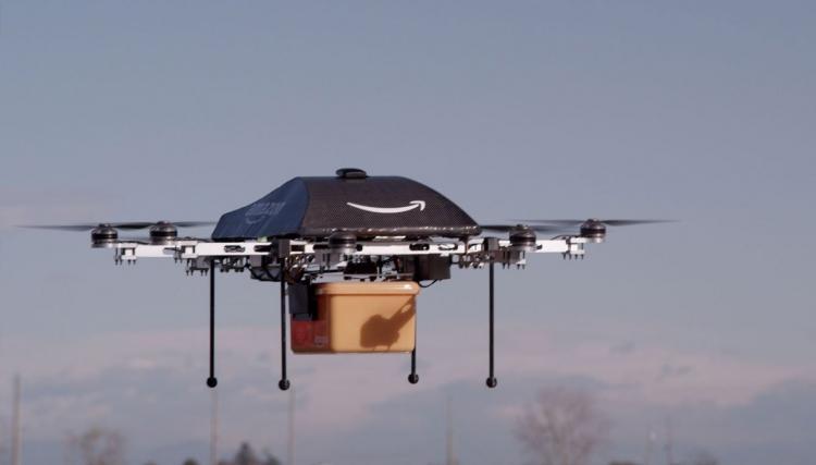 """Сервис Uber Eats планирует доставлять еду дронами"""""""