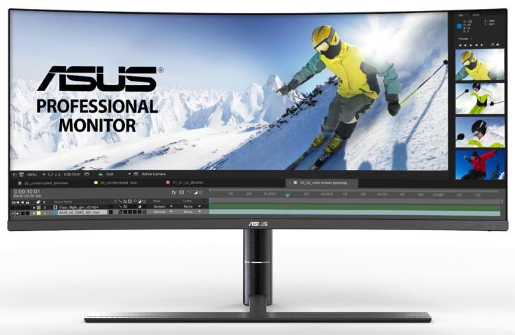 "ASUS ProArt PA34VC: изогнутый монитор с разрешением 3440 × 1440 пикселей"""
