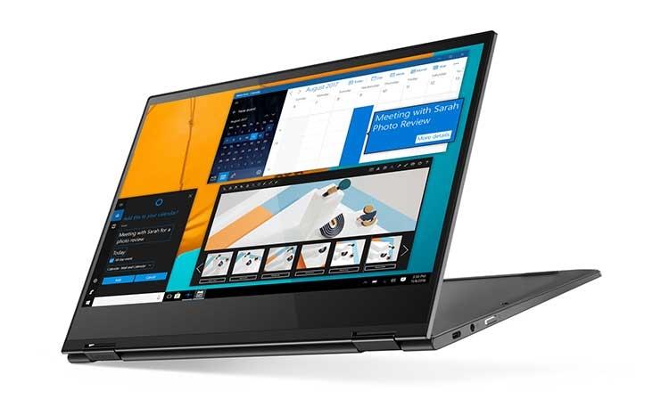 "Ноутбук-трансформер Lenovo Yoga C630 WOS протянет от батареи до 25 часов"""
