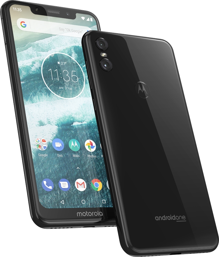 Смартфоны Motorola One и Motorola One Power