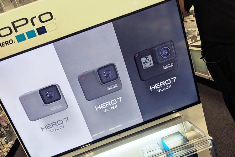 """Фотографии камеры GoPro Hero 7 просочились из магазина"""""""