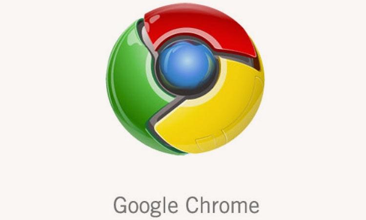 Оригинальный логотип Google Chrome