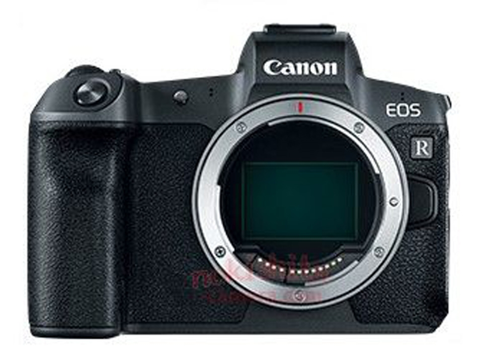 """Детали о полнокадровой беззеркалке Canon EOS R"""""""