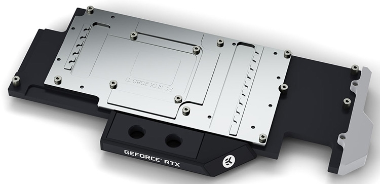 EK-Vector RTX 2080 Ti RGB Nickel + Acetal