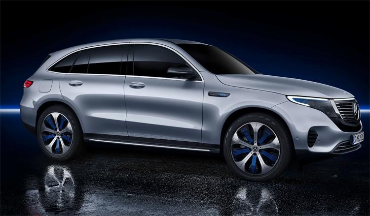 "Mercedes-Benz EQC 400 4Matic: электрический кроссовер с запасом хода более 450 км"""