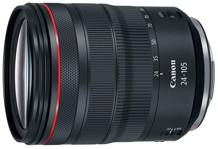 """Квартет объективов Canon для новой системы EOS R"""""""
