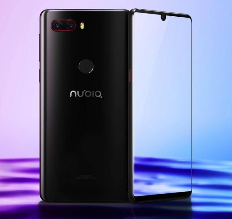 """Дебют смартфона ZTE Nubia Z18: безрамочный экран с вырезом и три камеры"""""""