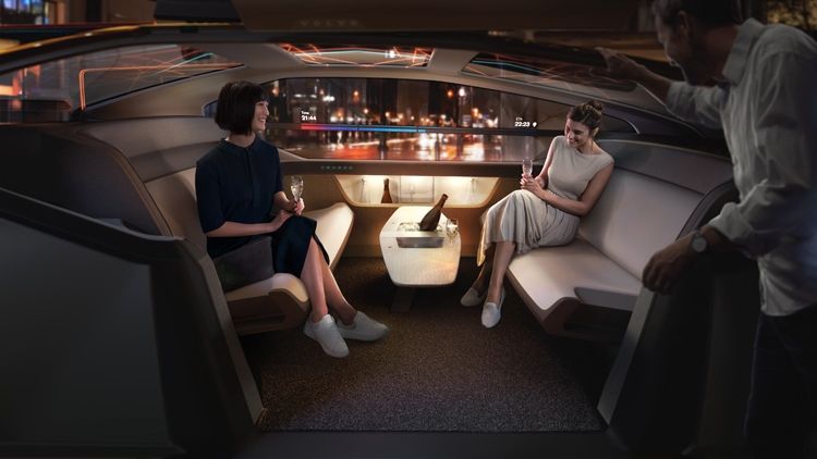 """Volvo 360c: каким может быть беспилотный электромобиль будущего"""""""