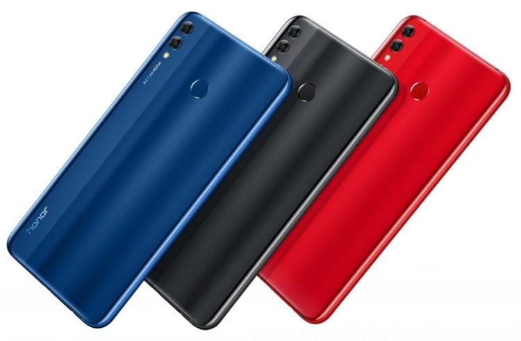 "Honor 8X и Honor 8X Max: большие смартфоны с экраном Full HD+"""