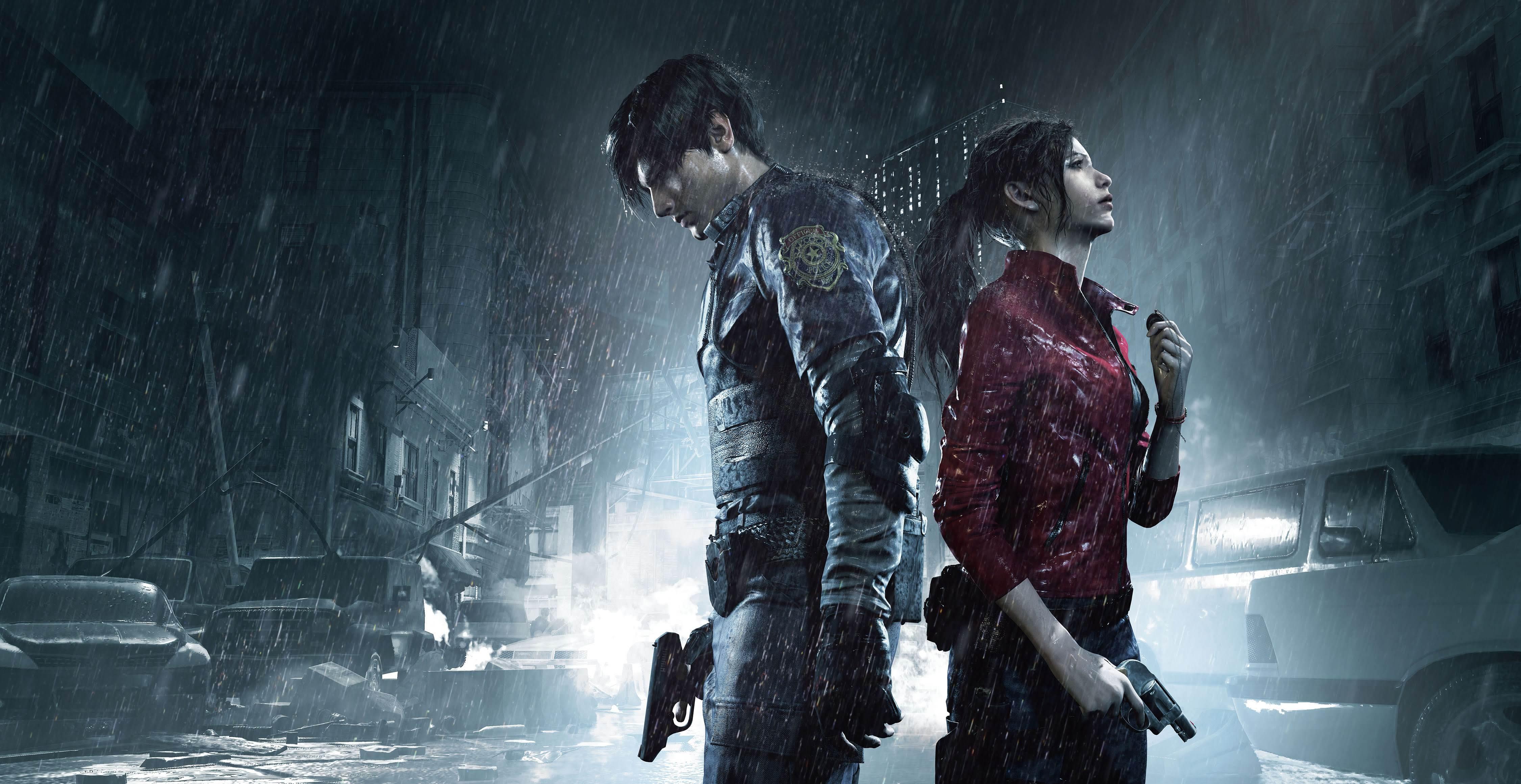 Картинки по запросу Resident Evil 2: Remake