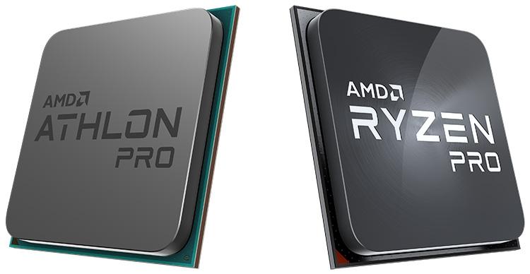 "AMD расширяет ассортимент: новинки Athlon, Athlon PRO и Ryzen PRO"""