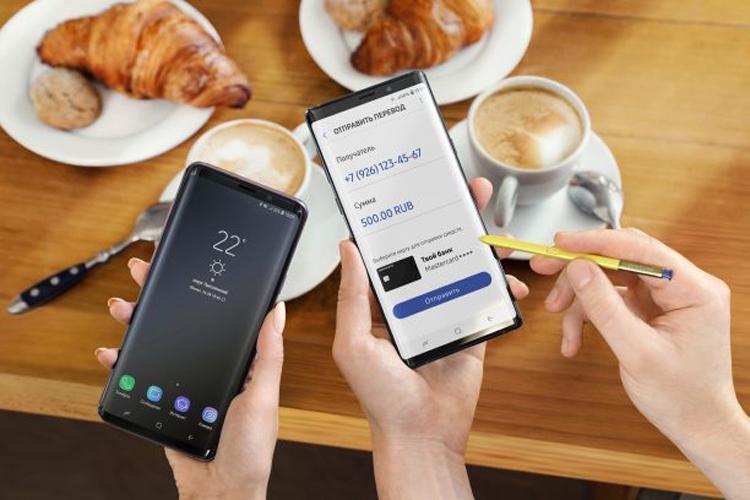 """В Samsung Pay заработали денежные переводы"""""""