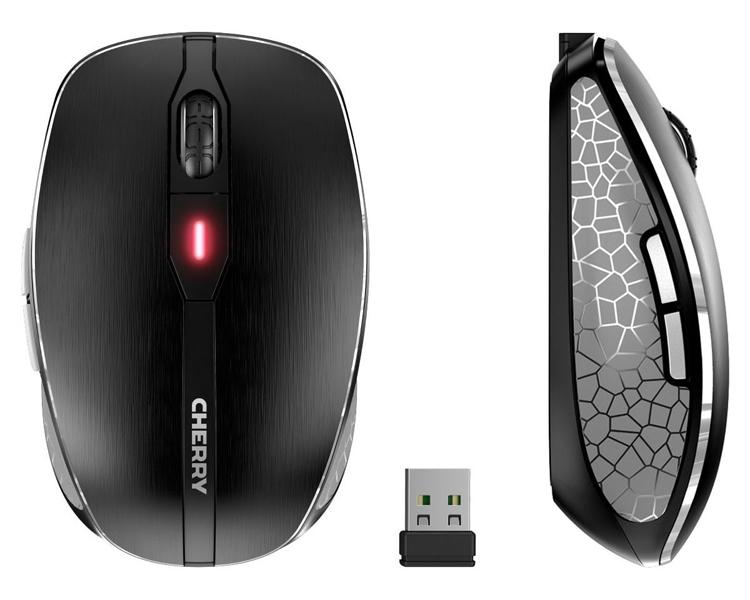 """Беспроводная мышь Cherry MW 8 Advanced использует два способа подключения"""""""