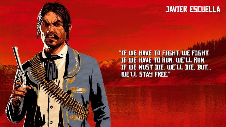 «Если надо будет драться – будем драться. Если надо будет бежать – побежим. Надо будет умирать – умрём, но... Мы будем свободны»