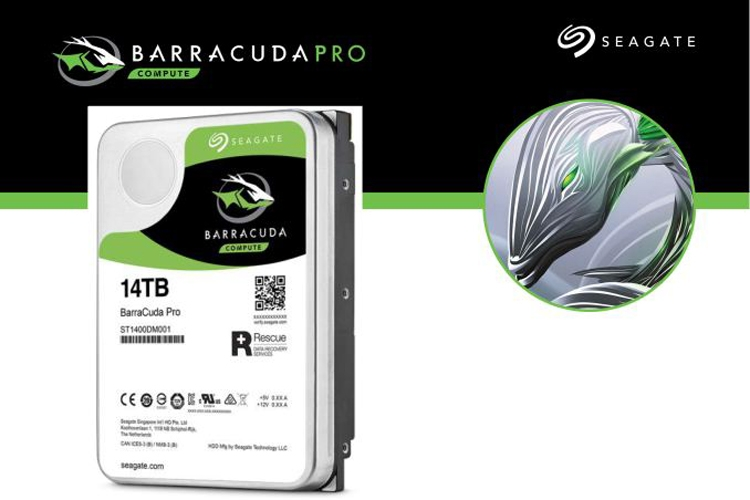 "Жёсткий диск Seagate BarraCuda Pro на 14 Тбайт оценён в $580"""