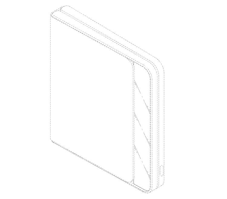 "LG запатентовала смартфон-раскладушку с гибким дисплеем"""