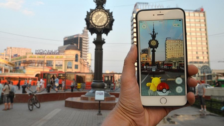 Pokemon Goвышла в РФ спустя два года