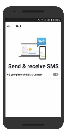 """Microsoft тестирует SMS-сервис для Skype на ОС Android"""""""