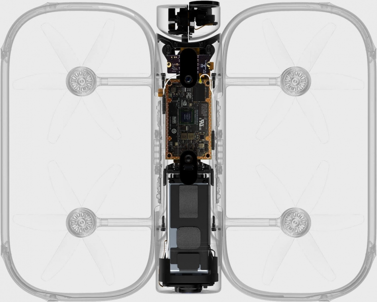 "Видео: NVIDIA рассказала, как чип Jetson TX1 дал ИИ-возможности дрону Skydio R1"""