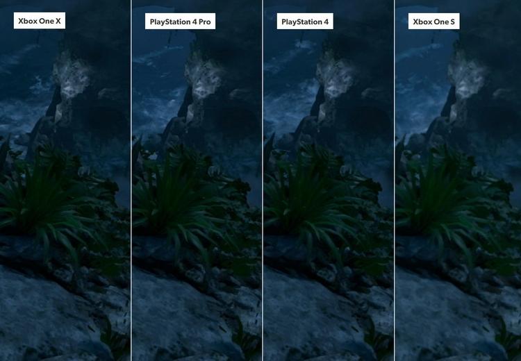 В режиме высокой кадровой частоты на PlayStation 4 Pro и Xbox One X разрешение составляет 1080р, так что по качеству картинки игра приближается к базовым консолям.