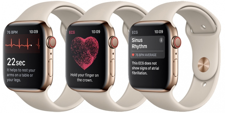 "Apple представила Watch Series 4 с функцией электрокардиограммы"""