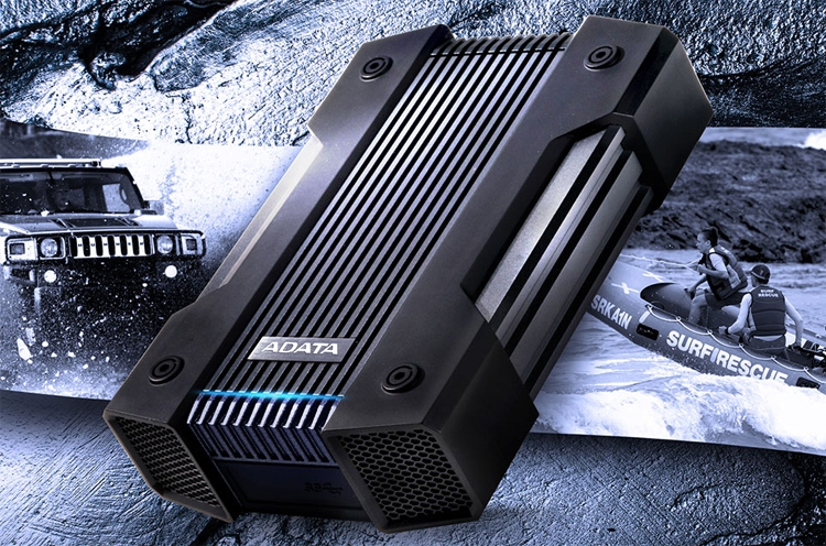 """ADATA HD830: «неубиваемый» жёсткий диск ёмкостью до 5 Тбайт"""""""