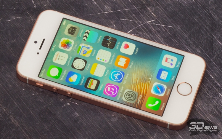 До анонса iPhone SE был самым дешёвым смартфоном на сайте Apple. После анонса его отправили на покой