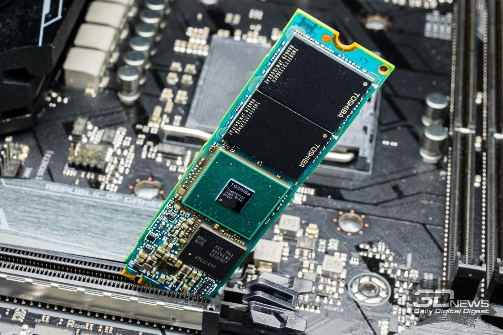 Обзор NVMe-накопителей Toshiba: XG5-P, XG5 и BG3 / Накопители