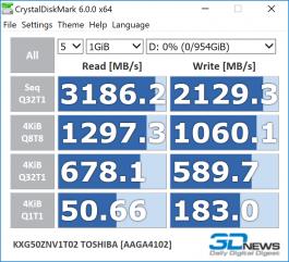 Toshiba XG5 1TB