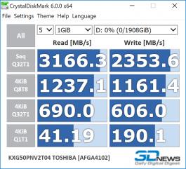 Toshiba XG5-P 2TB