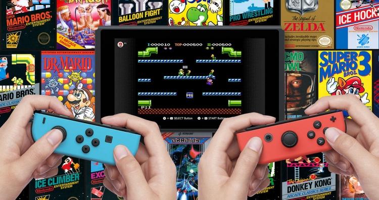 """Стартовый список игр NES для Switch Online и контроллеры в стиле NES"""""""