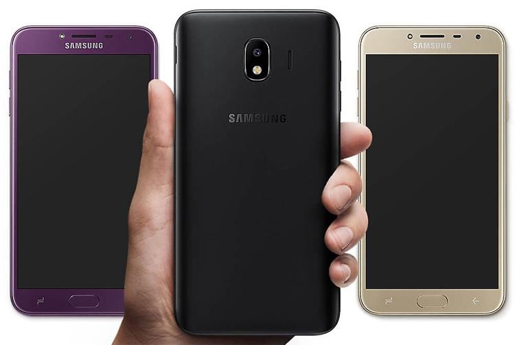 """Смартфон Samsung Galaxy J4+ сможет узнавать пользователей по лицу"""""""
