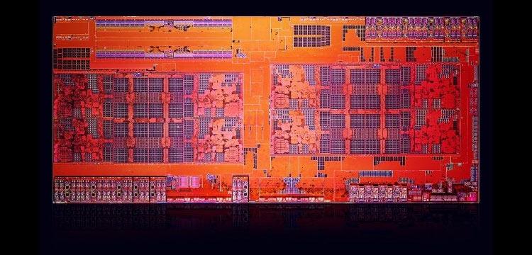 Кристалл процессора AMD Ryzen